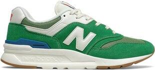 New Balance brīvā laika apavi vīriešiem CM997HRL Varsity Green cena un informācija | Sporta apavi vīriešiem | 220.lv