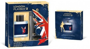 Komplekts Playboy London: edt 50 ml + dušas želeja 250 ml