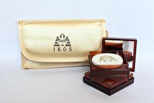 IKOS komplekts: Egyptische Erde (pūderis) + IKOS kosmētikas somiņa