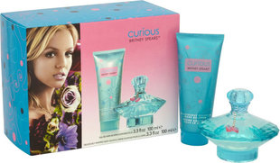 Комплект Britney Spears Curious: edp 100 ml + лосьон для тела 100 ml