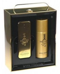 Komplekts Paco Rabanne 1 Million edt 100 ml + dezodorants 150 ml