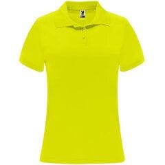 Tehniskais polo krekls ar īsām piedurknēm sievietēm, dzeltens cena un informācija | T-krekli sievietēm | 220.lv