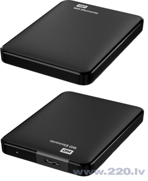 WD Elements 1TB USB 3.0 WDBUZG0010BBK