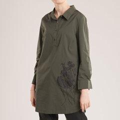 Krekls ar rakstu, zaļš cena un informācija | T-krekli sievietēm | 220.lv