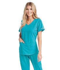Medicīnas blūze sievietēm SK101 New Turquoise cena un informācija | Medicīnas blūze sievietēm SK101 New Turquoise | 220.lv