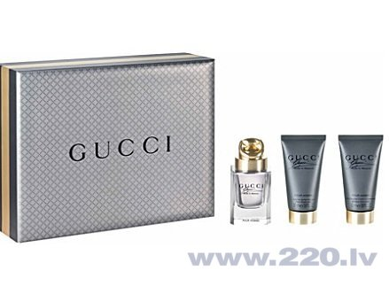 Комплект Gucci Made to Measure: edt 50 мл + бальзам после бритья 50 мл + гель для душа 50 мл цена и информация | Vīriešu smaržas | 220.lv