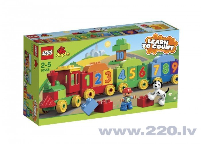 Конструктор Lego Number Train V29 10558 цена и информация | LEGO | 220.lv