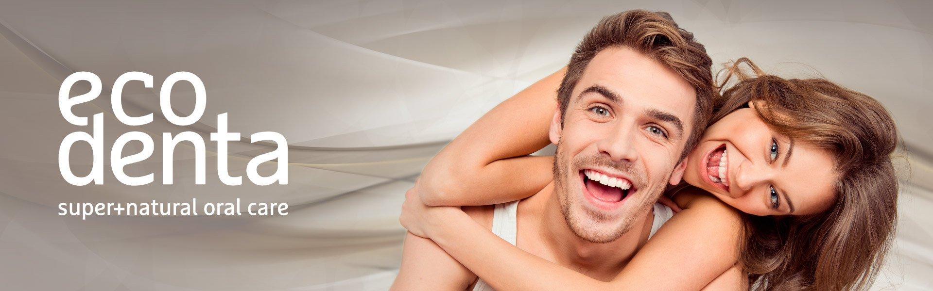 Zobu pasta jutīgiem zobiem bez fluora Ecodenta Cosmos Organic 75 ml                             Ecodenta