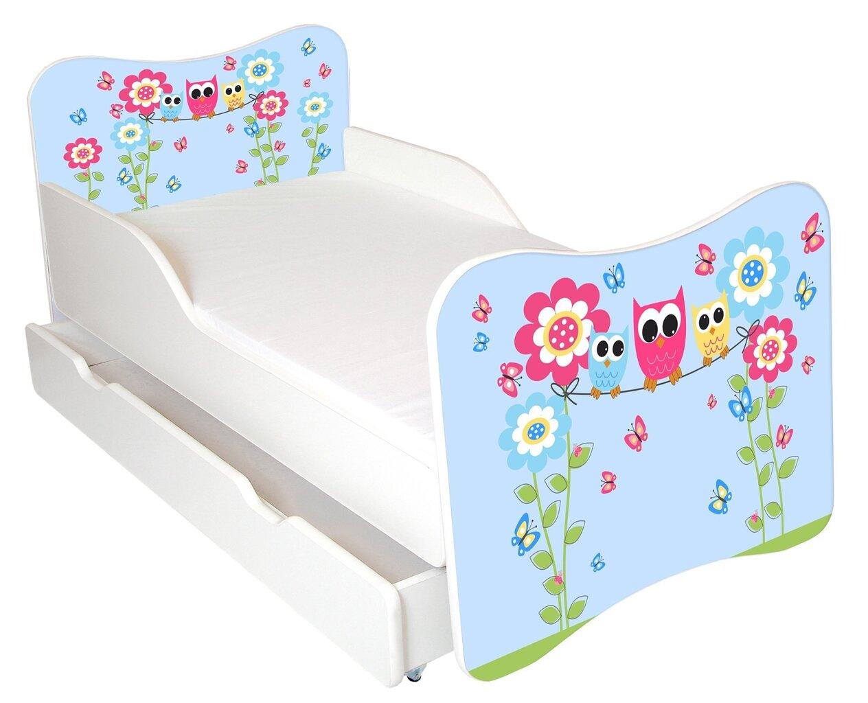 Bērnu gulta ar matraci un veļas