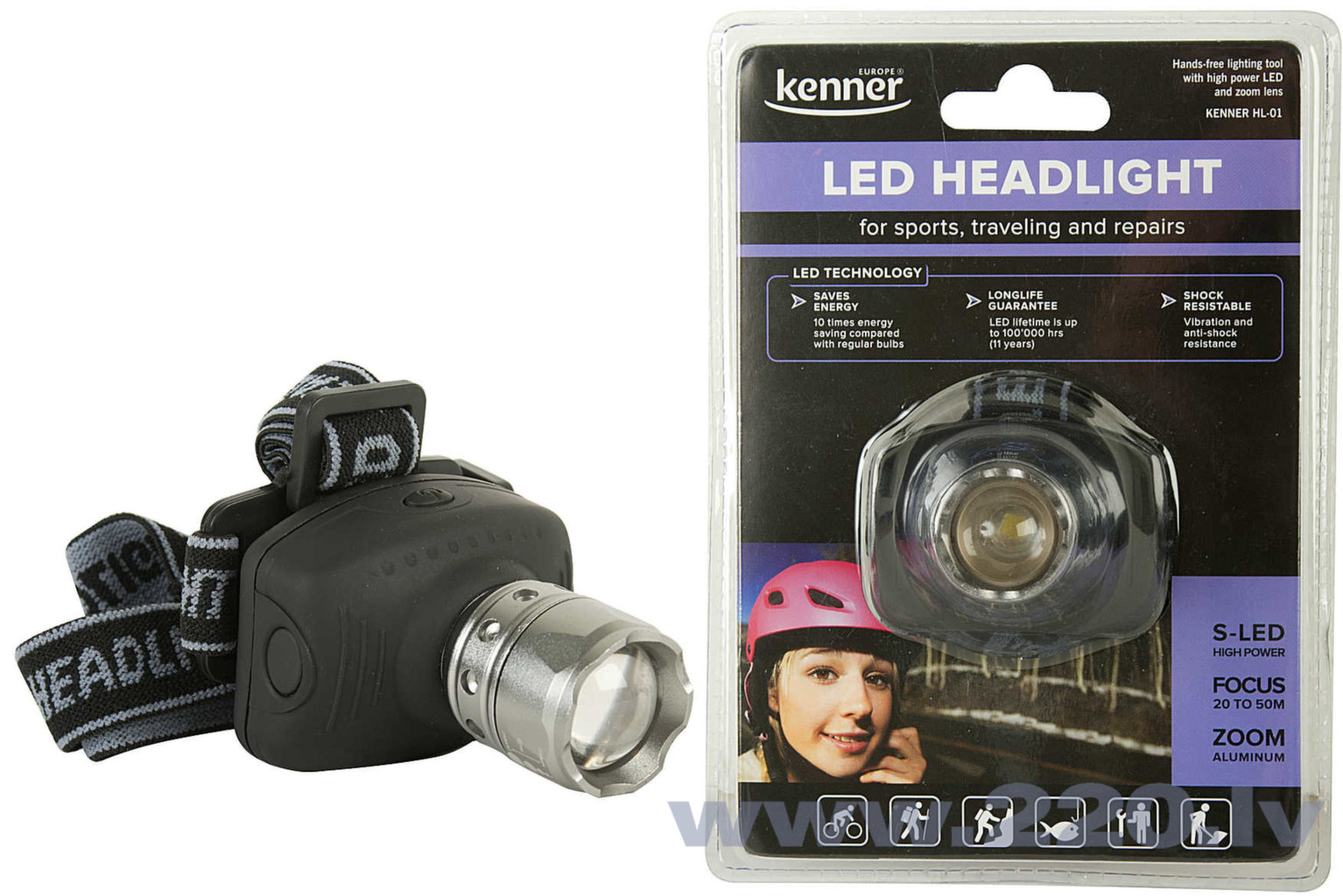 KENNER HL-01 HI-LED zoom