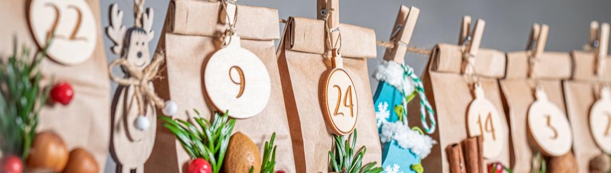 Adventes kalendārs - aizraujošākiem Ziemassvētkiem