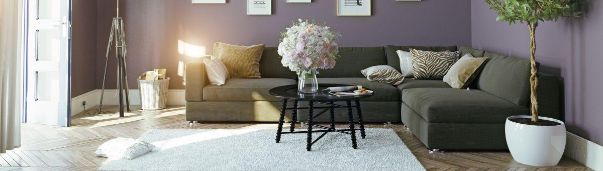 Stūra dīvāna izvēle viesistabai – 5 kritēriji, kas Jums būtu jāņem vērā