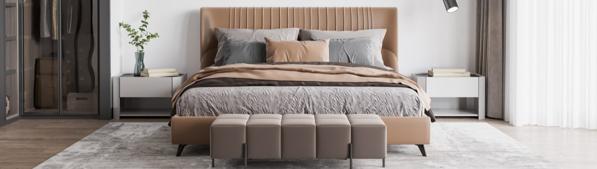 Kā iekārtot nelielu guļamistabu? Konsultē interjera dizainers