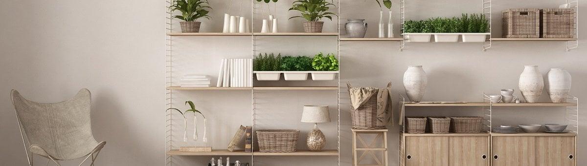 Kā izvēlēties perfektus plauktus jebkādai istabai